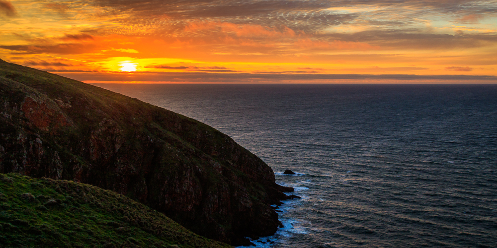 Sunset at Point Reyes Headlands